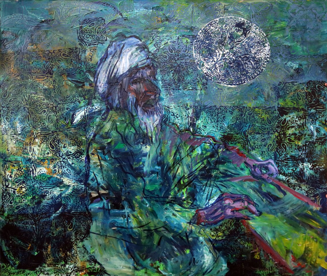 George Tells A Story Of A 100 Year Old Sufi/Shaman
